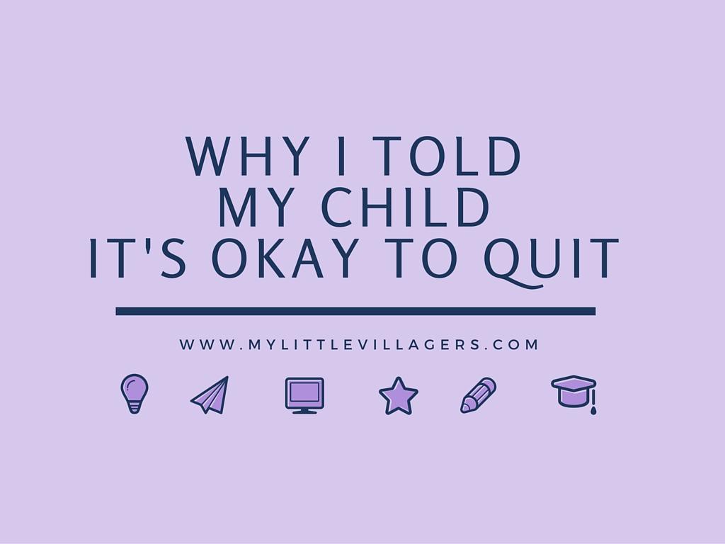Okay To Quit
