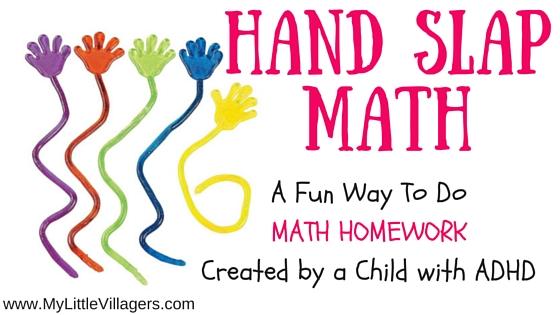 Hand Slap Math